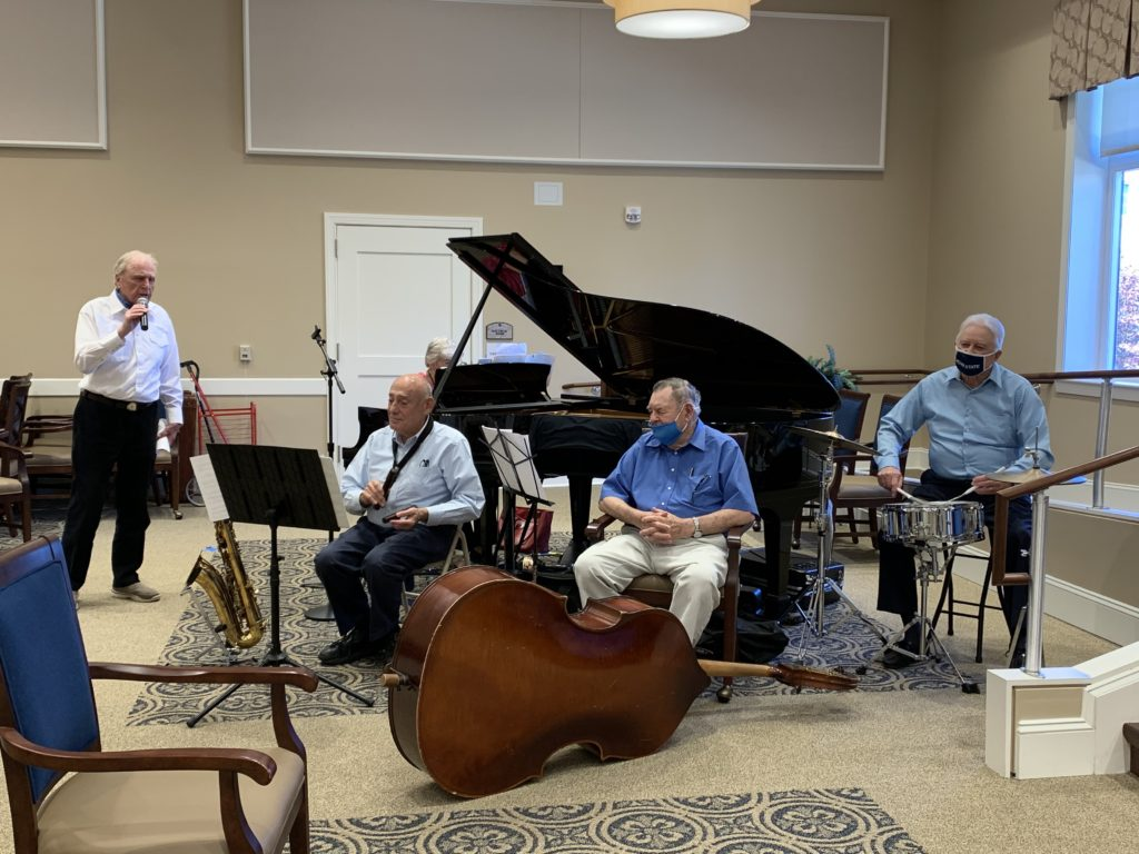 Entertaining Residents with Music from the Past: The Village's Sentimental Journey Band Brings Joy To Many